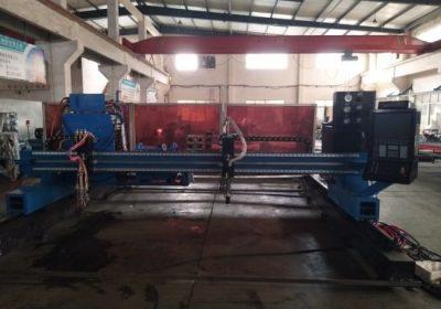 Ocelové řezací stroj plazmové / plamenné portálové cnc plazmové trubice řezací stroj