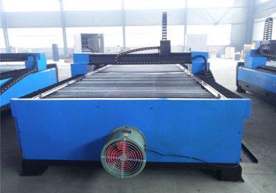 Čína uhlíková ocel / nerezová CNC plazmový řezací stroj Cena