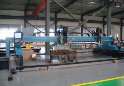 CNC portálové plazmové plazmové řezací stroje pro železné plechy