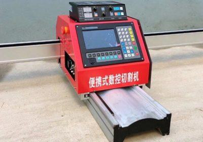 CNC přenosný plazmový řezací stroj na kov
