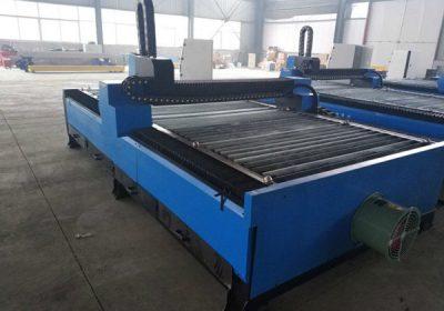 CNC kyslíkový plynový střídač přenosný cnc plamen / plazmový řezací stroj