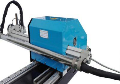 Typ portálu CNC plazmový řezací stroj, ocelový plechový řezací a vrtací stroje, tovární cena