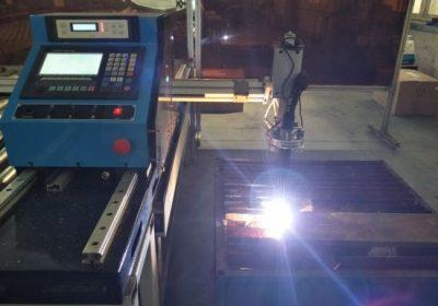 Přenosný cnc plamenový řezací stroj pro řezání 200mm silného kovu