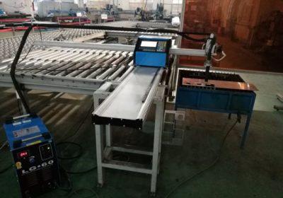 CNC přenosný plazmový / plamenový řezací stroj pro řezání hliníku