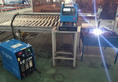 Typ portálu CNC Plazmové řezání a plazmový řezací stroj, ocelové desky pro řezání a vrtání za tovární cenu