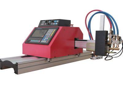 Malý portálový plazmový řezací stroj CNC